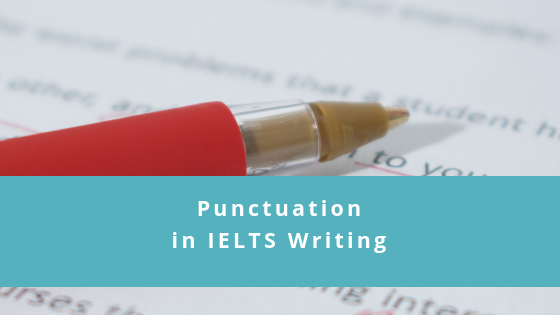 Punctuation in IELTS writing